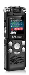Boocosa 8GB Voice Recorder for $28