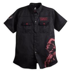 Star Wars Men's Darth Vader Work Shirt for $51