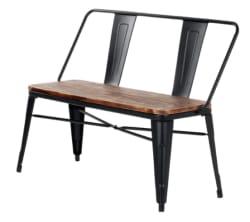 iKayaa 2-Seater Pinewood Indoor/Outdoor Bench $75