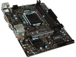 MSI LGA 1151 Motherboard w/ Gaming Mouse for $40
