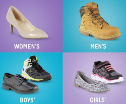 Shoes at Kmart: Buy 1, get 2nd for $1