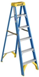 Werner 6-Foot Fiberglass Step Ladder for $39 + free shipping w/ $45