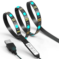 JackyLED 6.5-Foot USB Light Strip for HDTVs for $7