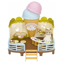 Calico Critters Ice Cream Shop 25pc Play Set $29