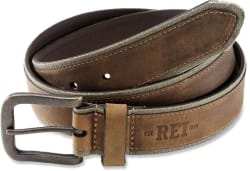 Best deals online daily deals and discount coupons rei co op mens canvas leather belt for 11 fandeluxe Choice Image