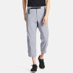 Uniqlo Men's Dry Cropped Jogger Pants for $6