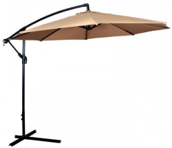 Offset 10-Foot Hanging Patio Umbrella for $45