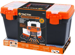 Tactix Toolbox w/ 47pc Tool Set for $26