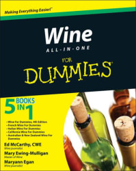 """""""Wine All-In-One for Dummies"""" eBook for free"""