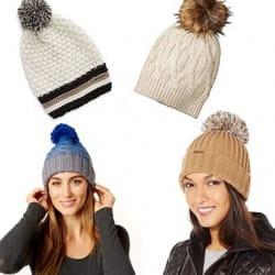 Set of 5 Designer Winter Hats for $29