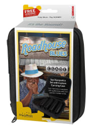 Hohner Roadhouse Blues Harmonicas 5-Pack for $17
