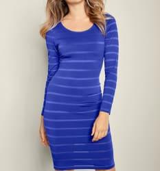 Venus Women's Sheer Stripe Dress for $15