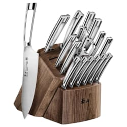 Cangshan Steel 17-Piece Knife Block Set from $250