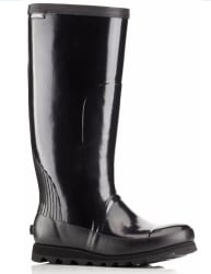 Sorel Women's Joan Tall Gloss Rain Boots for $72