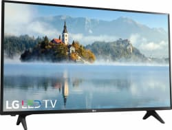 "LG 43"" 1080p LED LCD HDTV w/ $100 Dell GC $289"