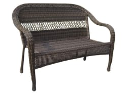 Garden Treasures Wicker Patio Loveseat for $55