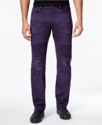 LRG Men's Payola Tapered-Fit Pintucked Jeans $20