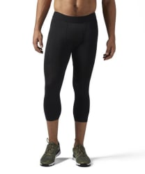 Reebok Men's 3/4 Length Compression Tights for $18