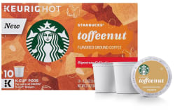 Starbucks Toffeenut 60-Count Keurig K-Cups for $18