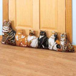 Miles Kimball Cat Door Draft Blocker for $18