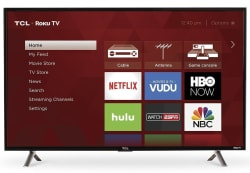 "TCL 40"" 1080p LED LCD Smart TV for $270"
