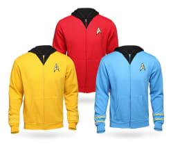 Star Trek Unisex Uniform Hoodie for $20