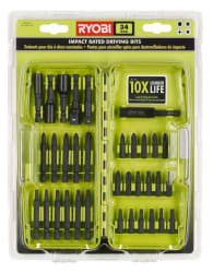 Ryobi 34-Piece Impact Rated Driving Bit Kit $7