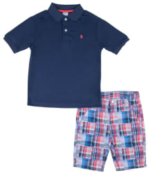 Izod Boys' Polo and Short Set from $13