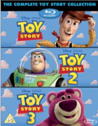 The Complete Toy Story Collection on Blu-ray $16