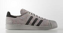 adidas Men's Superstar Primeknit Sneakers for $39