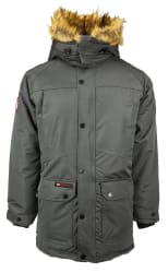 Canada Weather Gear Men's Fur Trim Hooded Parka Jacket for $50 + free shipping