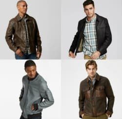Timberland Men's Leather Jackets: Extra 50% off
