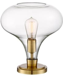 "Possini Euro Becca 12"" Glass Table Lamp for $60"
