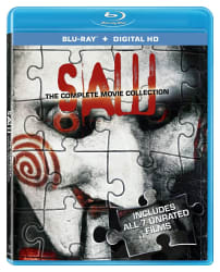 Saw: The Complete Movie Collection on Blu-ray $9