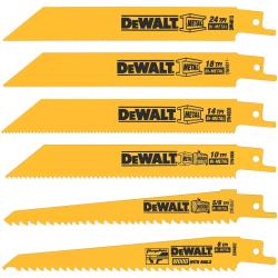 DeWalt Reciprocating Saw Blade 6pc Set for $8
