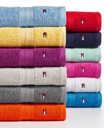 Tommy Hilfiger Towels & Washcloths from $3