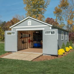 Braxton 12- x 24-Foot Garage Shed from $2,500