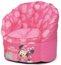 Disney Kids Minnie Mouse Bean Bag Chair For 15 Pickup At Walmart