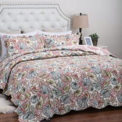 Bedsure Printed Summer Quilt Sets from $12
