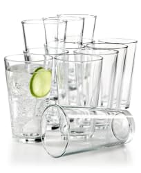 Cellar Glassware Basics 12-Piece Tumbler Set $10