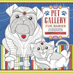 """Pet Gallery Fur Babies"" Coloring Book for $2"