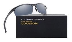 Luomon Unisex Polarized Sport Sunglasses for $14