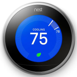 Nest Learning Thermostat for $174 with padding