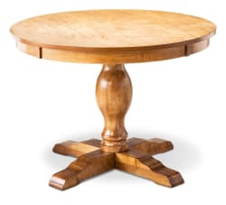 Threshold Round Pedestal Dining Table for $105