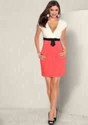 Venus Women's Bow Waist Dress for $25