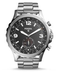 Fossil Q Stainless Steel Hybrid Smartwatch for $95