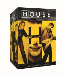 House, M.D.: The Complete Series on DVD for $41