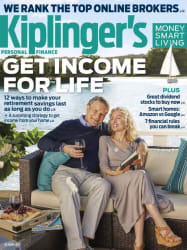 Kiplinger's Personal Finance Mag 1-Year Sub for $6
