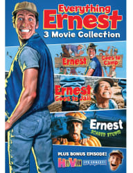 Everything Ernest: 3 Movie Collection on DVD $4