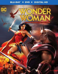 Wonder Woman Commemorative Ed. Blu-ray/DVD for $9